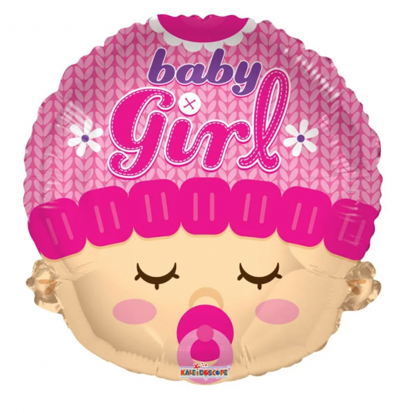 Folie Ballon Baby Girl 46 cm